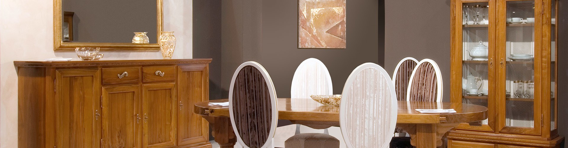 Mobili Soggiorno in Stile \'500 - Credenze in legno massello ...